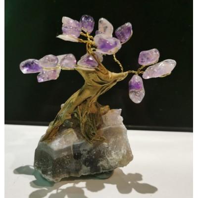 #4- Arbre sur améthyste avec pierres d'améthyste